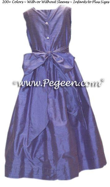 Flower Girl Dress Style 319 back view