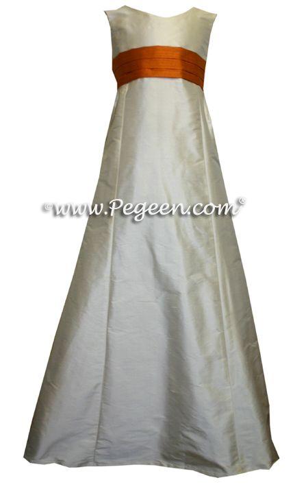 Front View - Pegeen Tween Jr Bridesmaids Dress Style 320