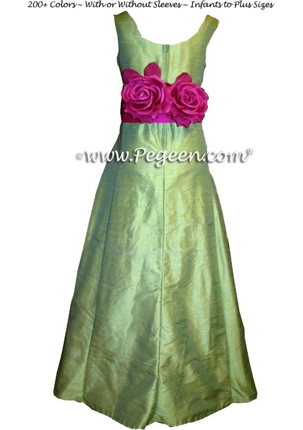 Details - Pegeen Tween Jr Bridesmaids Dress Style 320