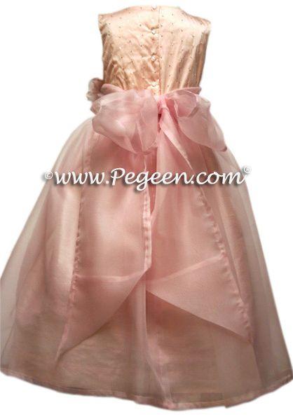 BACK - Flower Girl Dress Style 325