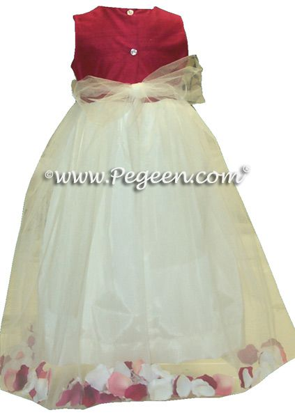 Flower Girl Dress Style 333 Back View