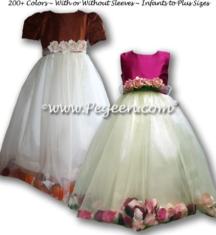 Flower Girl Dress Style 333 Base View