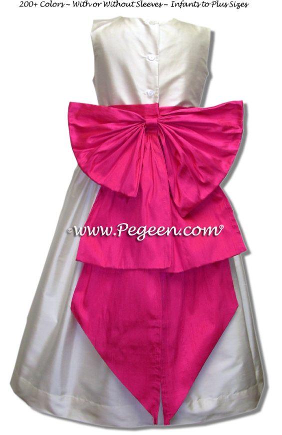 Flower Girl Dress Style 345 - Details