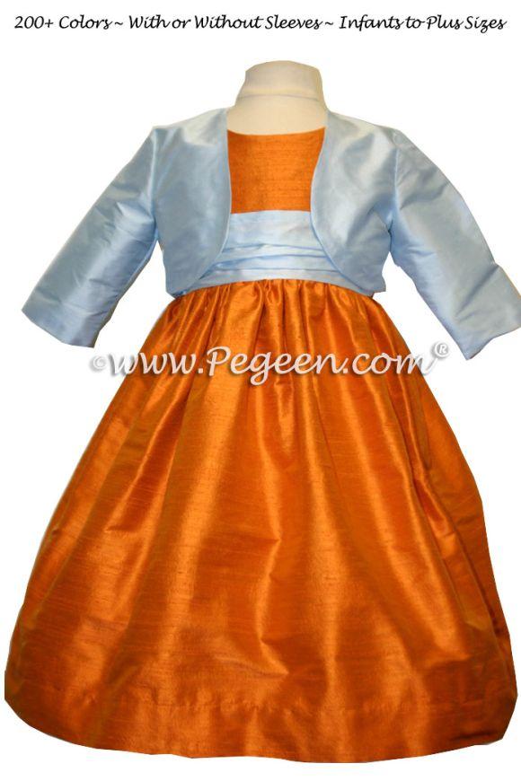 Girls Silk Bolero Jacket