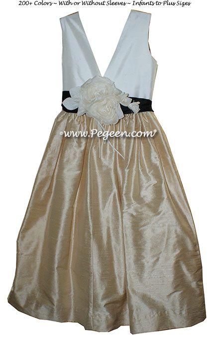 Flower Girl Dress Style 419 by Pegeen.com