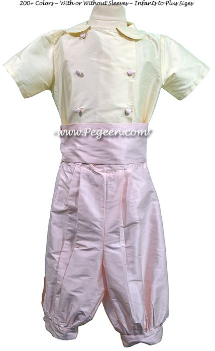 Boys Silk French Style Pageboy Suit 509