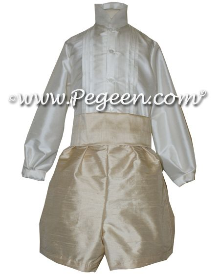 Style 510 - Boys French Style Page Boy Suit with Shirt Tucking