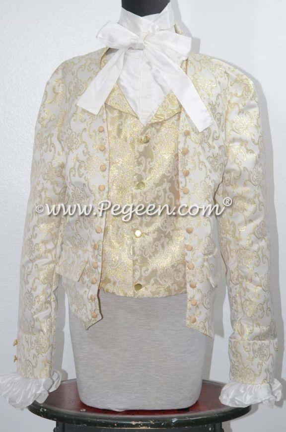 Man's Style 545 - Man's Damask Shirt, Vest, Jacke