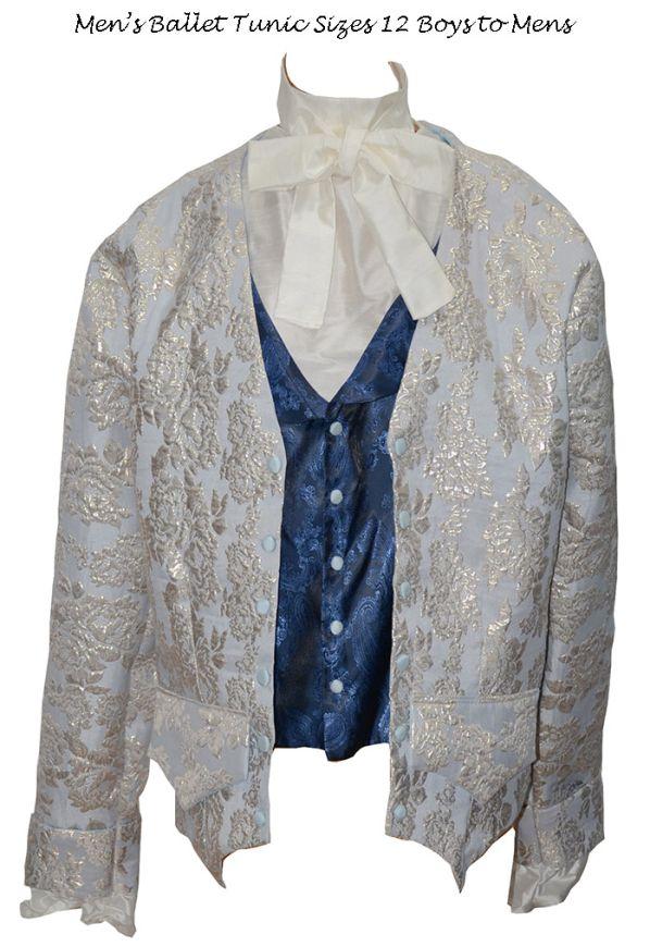 Stage Style 543 - Man's Damask Shirt, Vest, Jacket