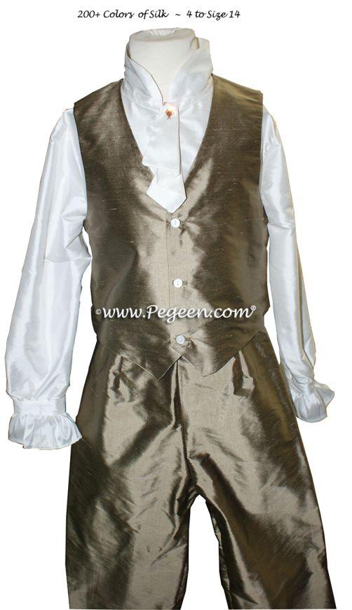 Boys Style 592 - Boys Page Boy Suit with Pant, Vest & Fancy Shirt
