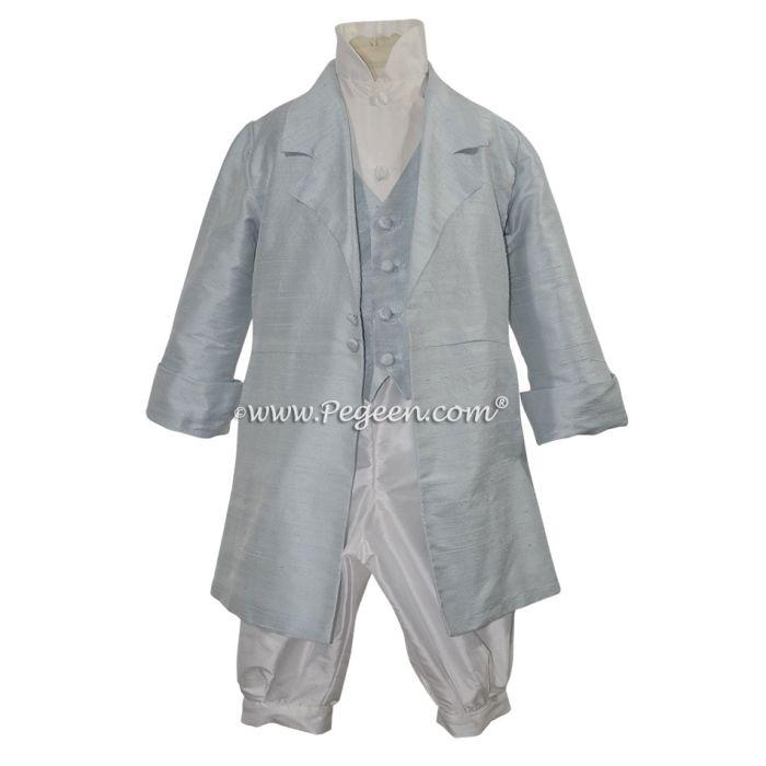 Boys Style 593 - Boys Vest, Shirt & Long Jacket