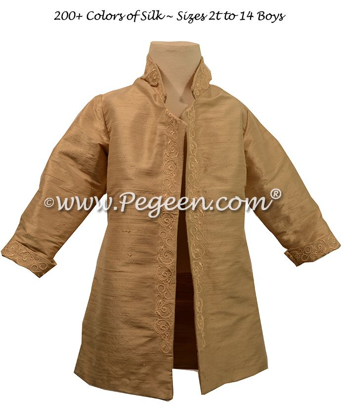 Boys Price Suit with shirt, jacket, breeches and side sash