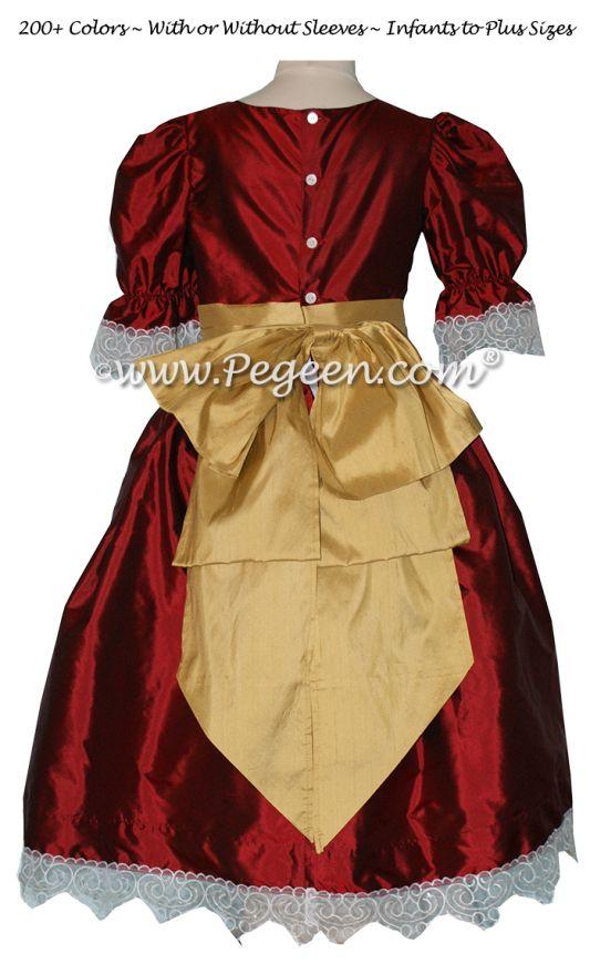 Nutcracker Dress Style 745 CLARA PARTY DRESS Claret Red