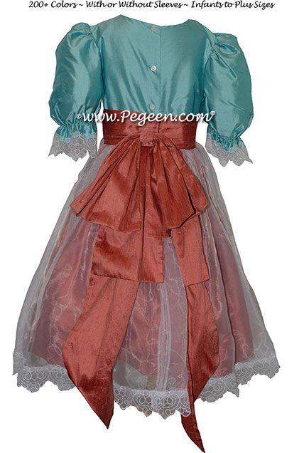 Nutcracker - Holiday Dress Style 703 CLARA'S PARTY SCENE