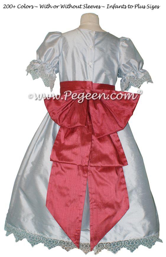 Nutcracker Dress Style 745 CLARA PARTY DRESS Platinum