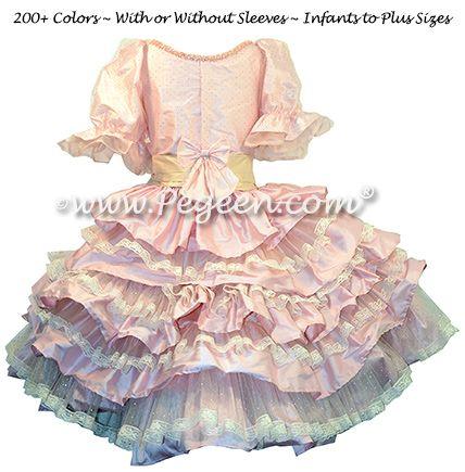 Nutcracker Dress for Clara with Multi Ruffles Style 722