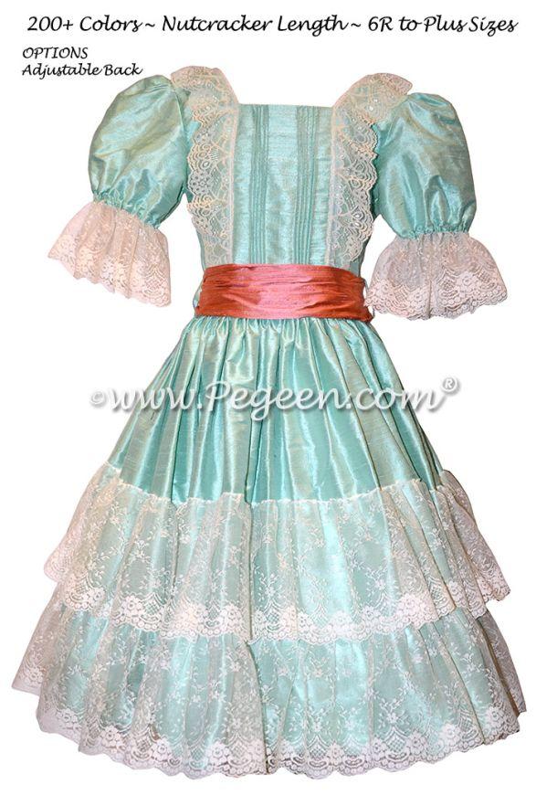 The Nutcracker Dress 730 CLARA'S PINTUCK DRESS
