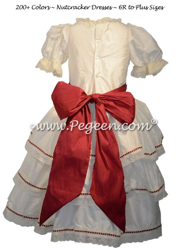 Nutcracker - Holiday Dress Style 756 CLARA RIBBON RUFFLE DRESS