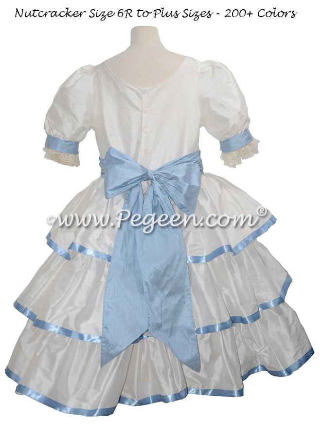 Nutcracker - Holiday Dress Style 757 CLARA RIBBON RUFFLE DRESS