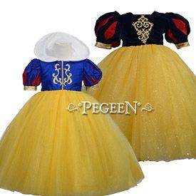 Snow White Dress - Flower Girl Dress Style 807