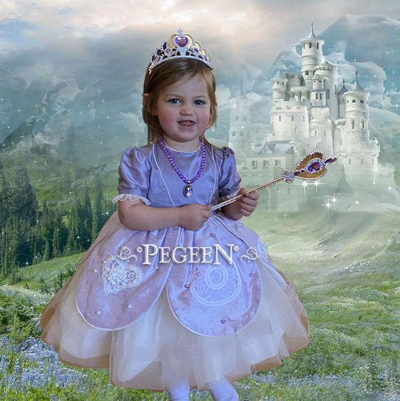 Flower Girl Dress Style 808 Princess Sophia the 1st