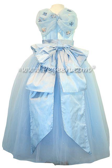 Blue Quartz Fairy Dress - Flower Girl Dresses - Style 913