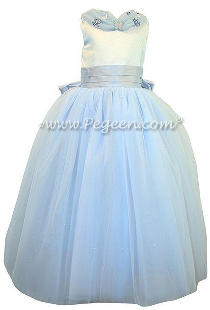 Blue Fairy Dress - Flower Girl Dresses - Style 913