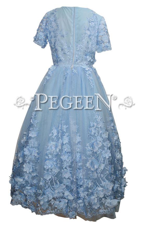 Jr Bridesmaids Gown