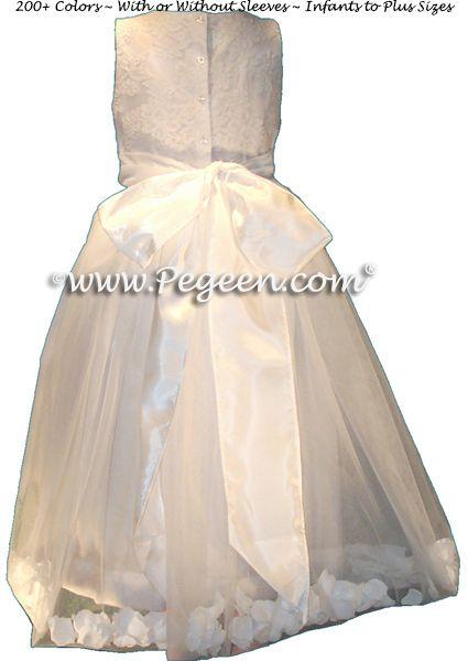 Flower Girl Dress Style 963 - Back View