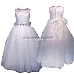 Flower Girl OR First Communion Dress Style 977