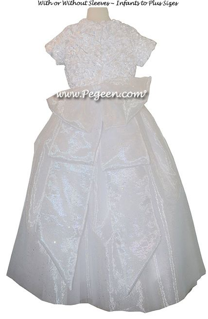 First Communion Dress Style 995 Back View