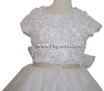 Bodice Closeup Communion Dress Style 995