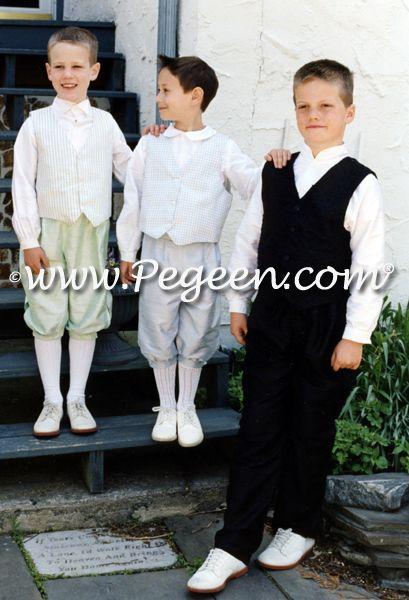 Boy's 3 pc vest suit for younger boys (left)