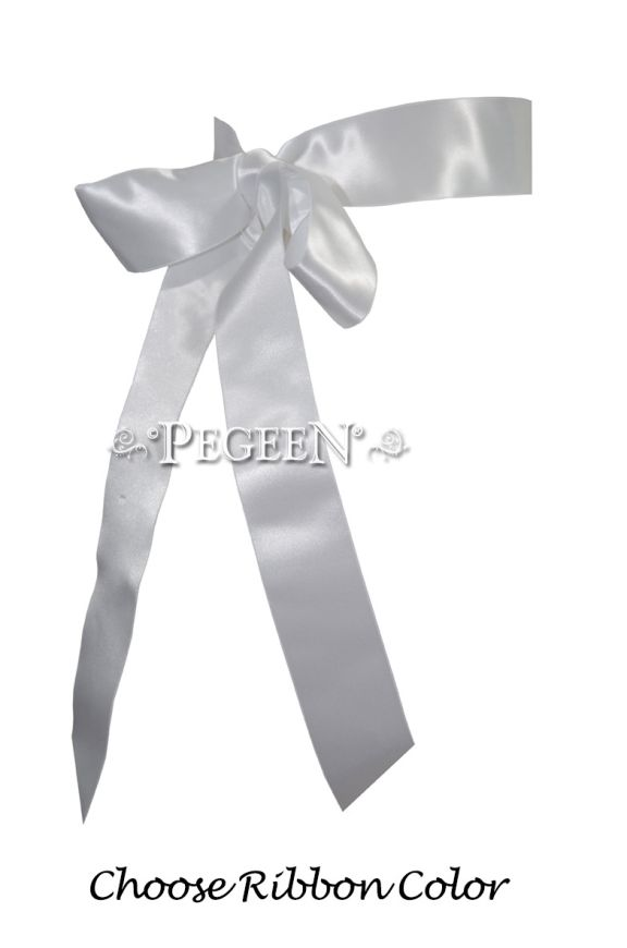 Optional Ribbon Sash