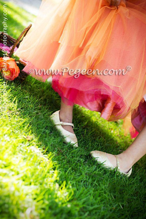 2014 Garden Wedding of the Year Style 402 Tulle Flower Girl Dress