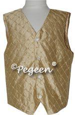 Spun Gold Pearled Vest