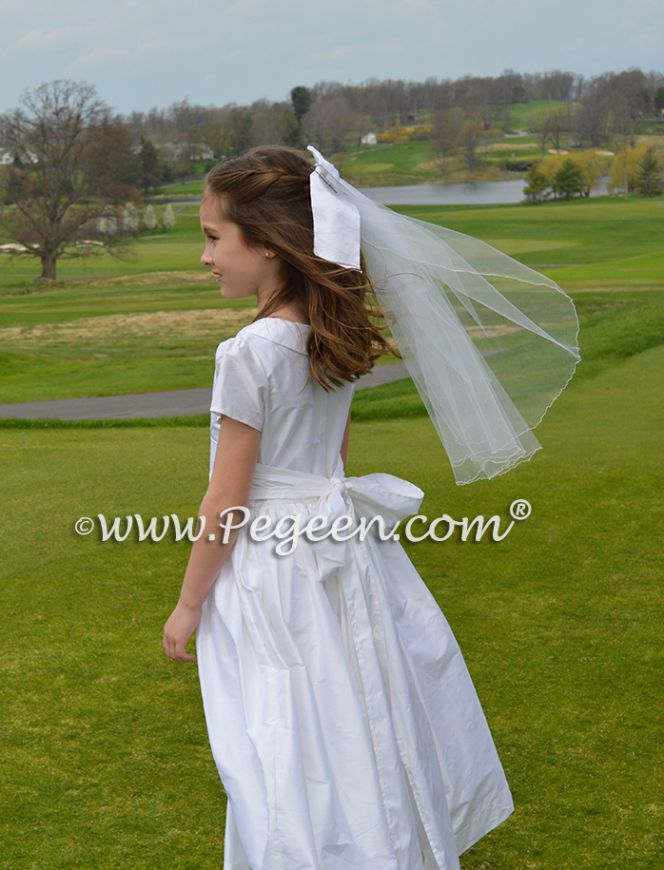 Veil that matches your dress