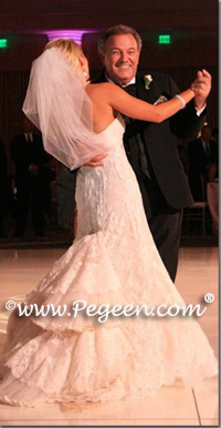 Bride dancing with Grandfather