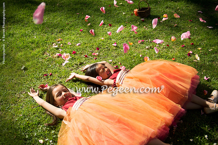 eaa0f1d9dc6 Flower Girl Dress of the Year for 2014. Garden Wedding ...