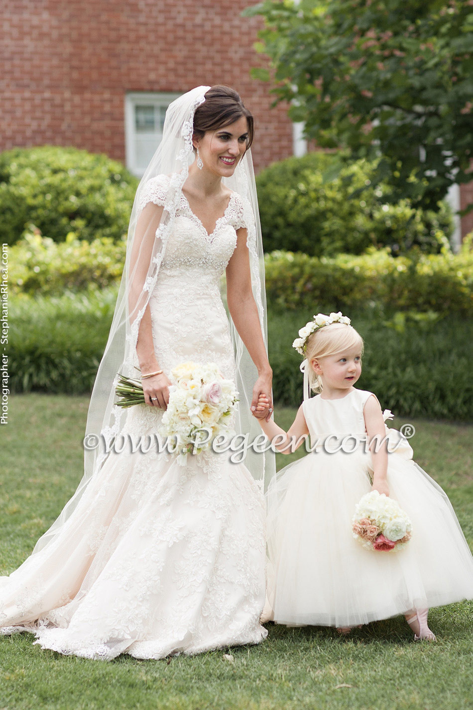 2014 southern wedding flower girl dresses of the year pegeen. Black Bedroom Furniture Sets. Home Design Ideas